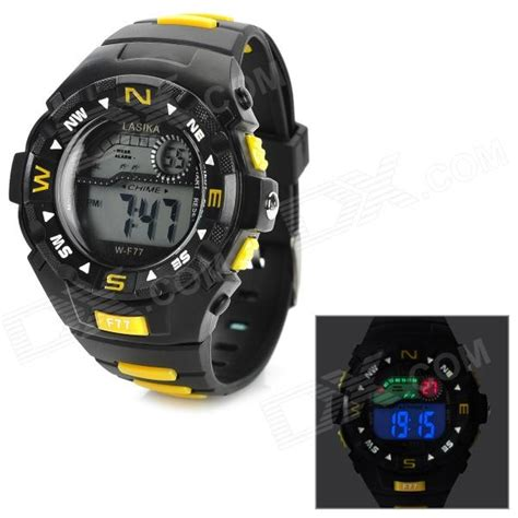lasika w f77 s waterproof rubber band quartz led