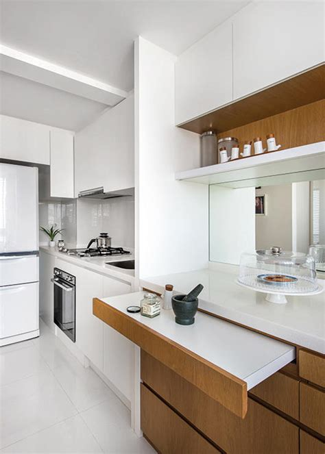 Kitchen Design For Hdb by Creative Small Space Solution Collapsable Furniture