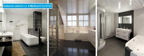 badkamer plafond lamellen luxalon plafonds luxalonexpert