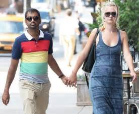 Aziz ansari getting serious with girlfriend courtney mcbroom upi com