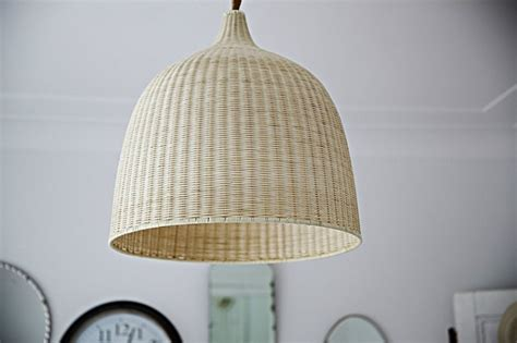 Rattan Pendant Lights Design Sleuth 6 Summery Fiber Pendant Lights Remodelista