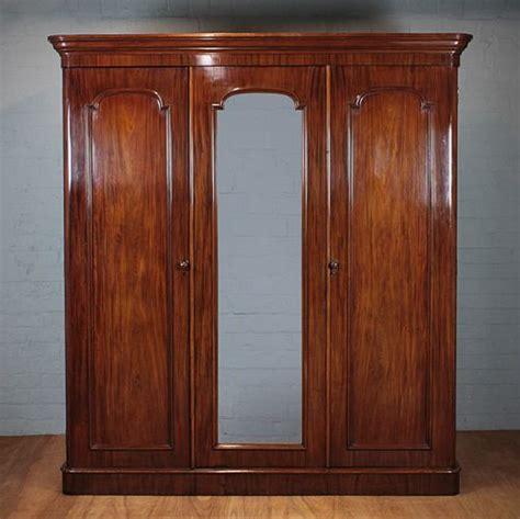 Mahogany Wardrobe by Large Mahogany Wardrobe 240927