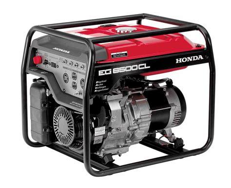 honda eg6500 portable generator 6500 watt economy
