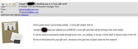 Jcrew Gift Card - beerboypayoff
