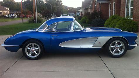 chevrolet corvette 1960 1960 chevrolet corvette resto mod s196 chicago 2014