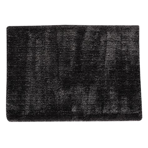 Charcoal Grey Rugs by Polaire Pile Rug In Charcoal Grey 160 X 230cm