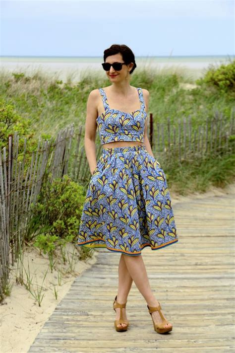 trend to try two matching set skirts matching