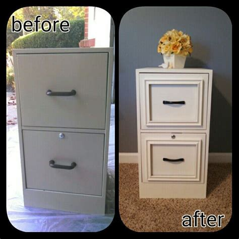 Cheap Cabinet Makeover by 25 Best Ideas About File Cabinet Makeovers On