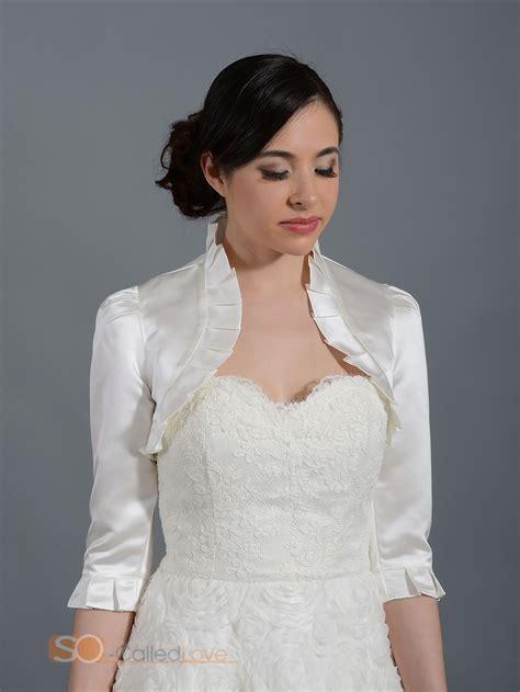 Sandal Formal Kasual Pria Vhd 1312 womens jacket wedding bridal dress satin bolero