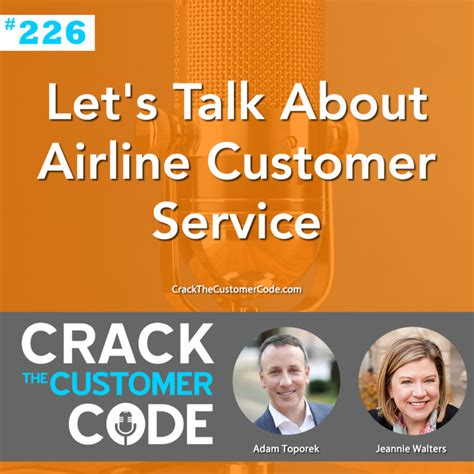 226 let s talk about airline customer service