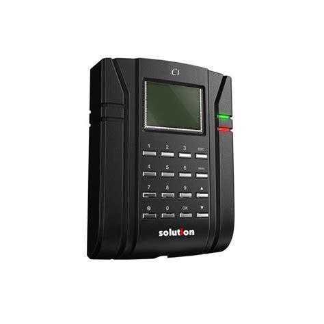 Mesin Absen Check Clock jual mesin absen solution c1 harga spesifikasi mitra