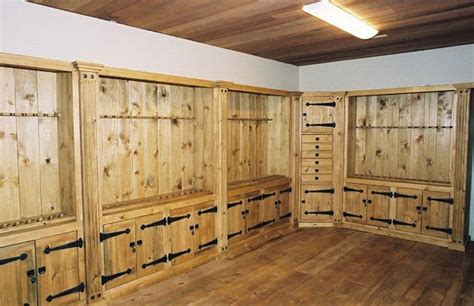Hand Crafted Gun Cabinets by Naked Tree Woodworking
