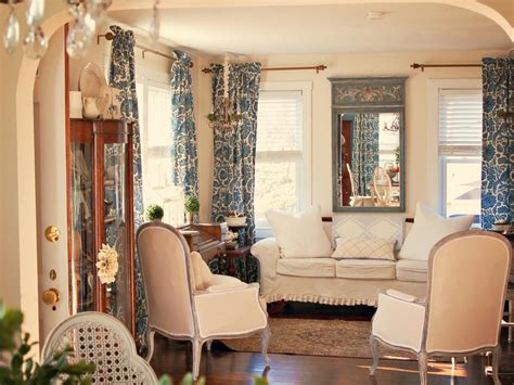country chic living room french inspired design from hgtv interior design styles