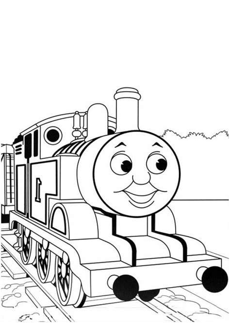 Get This Easy Printable Thomas And Friends Coloring Pages