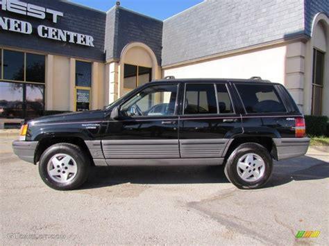 dark grey jeep grand cherokee 1995 black jeep grand cherokee laredo 4x4 57217305