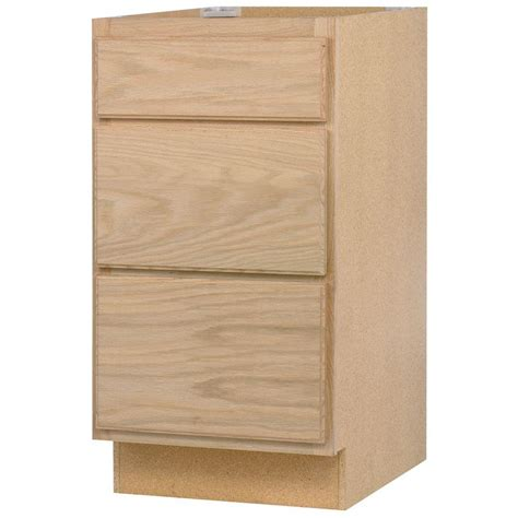 Assembled 24x34.5x24 in. Base Kitchen Cabinet with 3