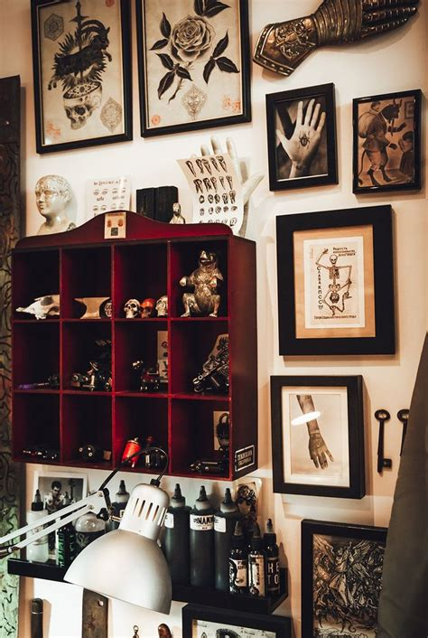 the studio tattoo 25 best ideas about shop decor on