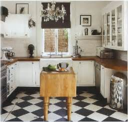Black And White Tile Kitchen Ideas by 25 Beautiful Black And White Kitchens The Cottage Market