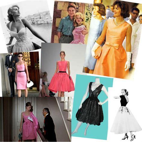 Mode Der 60iger by Vintage Kleider Aus Den Verschiedenen Dekaden Des 20 Jh