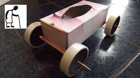 Tissue Box Rubber Band Powered Car F Sport Lt