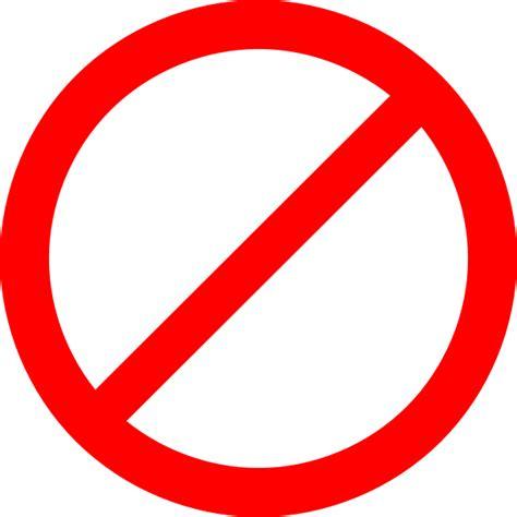 free clipart no copyright no sign clip at clker vector clip
