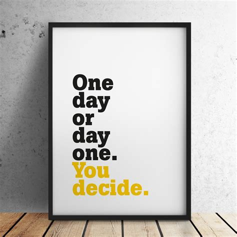 Day One by Motivation Determination Drive