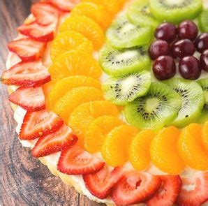 easy fresh fruit dessert recipes saturday recipe easy fresh fruit dessert pizza totallytarget