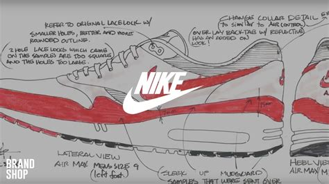 Nike Operations Mba by The Design Return Of The 1 History Of Nike Air