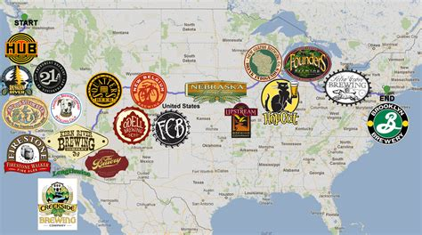 seattle microbreweries map craft road trip a photo recap the pour report
