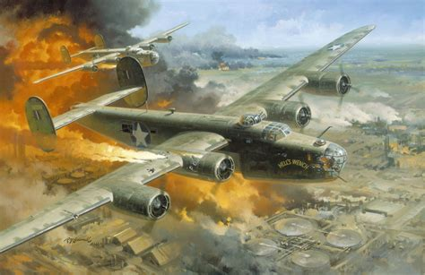 painting airplane wwii aviation artwork gallery 1 atomic toasters