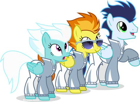 my little pony wonderbolts fleetfoot the wonderbolts fleetfoot spitfire and soarin