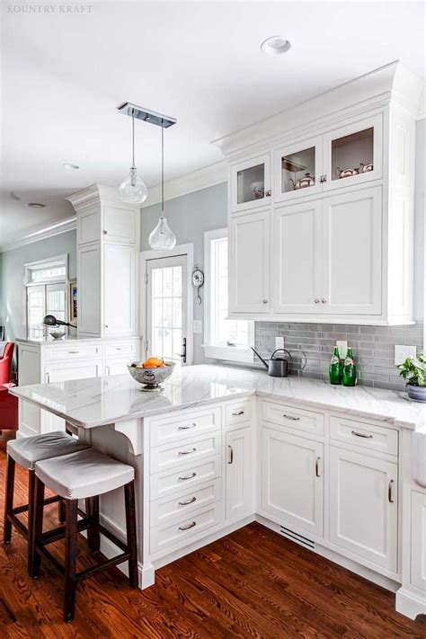 white kitchen cabinets decor ideas  farmhouse