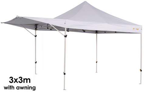 coleman gazebo with awning oztrail compact gazebo marquee awning market stall 2 4 x 2