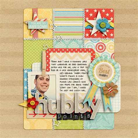 scrapbook layout design tips ideas for backing up scrapbook page elements with grids
