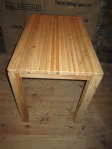 table de cuisine touch du bois