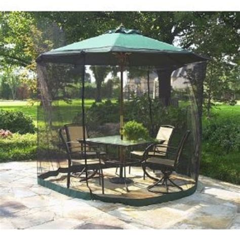 mosquito netting for patio umbrella 5 best umbrella table screen keep pests from bothering