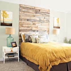 Shipping pallet headboard home bloggers crafty ways to save this
