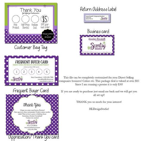 scentsy loyalty card template the 25 best consultant business ideas on