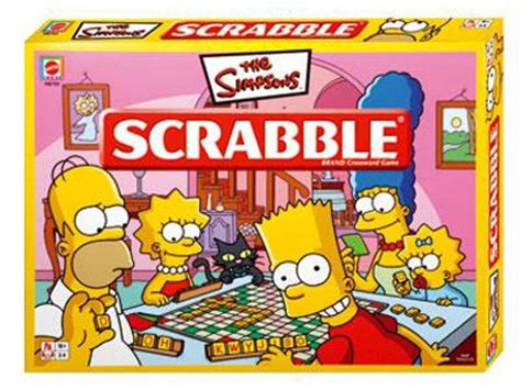 The Simpsons Family Gets Scrabbled 171 Scrabble