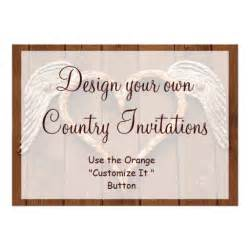 make your own invitations template design your own country invitations template 13 cm x 18 cm