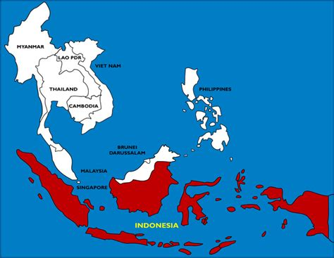 where is indonesia on the world map maps world map indonesia
