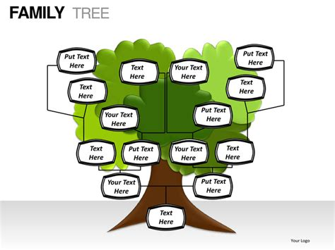 powerpoint genealogy template family tree powerpoint presentation templates