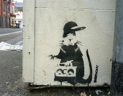 stencil graffiti street graphics 53 banksy graffiti artworks supercubed