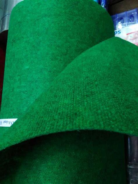 jual karpet hijau tua tipe salur zaekarpet