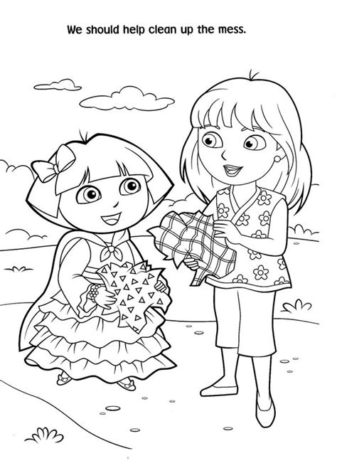dora christmas coloring pages free printable christmas coloring pages dora archives kids coloring