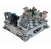 MOC Giant Chess Star Wars Episode 5 Hoth Theme  LEGO