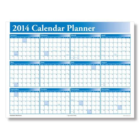 printable calendar resources 2u 2014 attendance calendar to print wall planners small