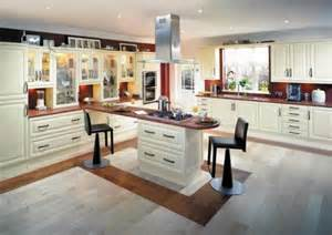 Traditional cream kitchen design one of the most important part of