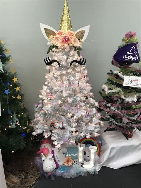 unicorn tree topper tree unicorn tree ℭhris ⴕrees