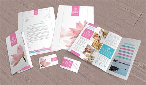 Corporate Design Vorlagen Psd corporate design die komplettausstattung f 252 r wellness und friseure
